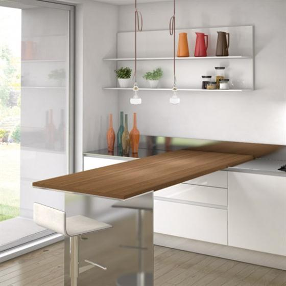 Contemporary Minimalist Sleek Kitchen Design Ideas Small Pantry