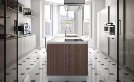 Contemporary Minimalist Sleek Kitchen Design Ideas kitchen sink