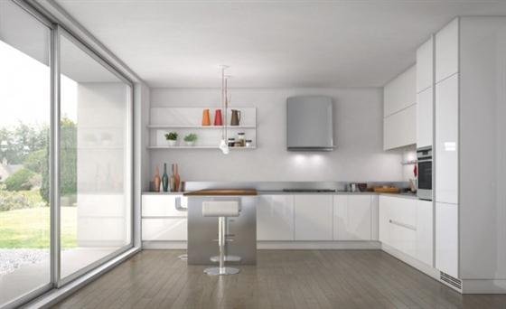 Contemporary Minimalist Sleek Kitchen Design Ideas – Emetrica by Ernestomeda