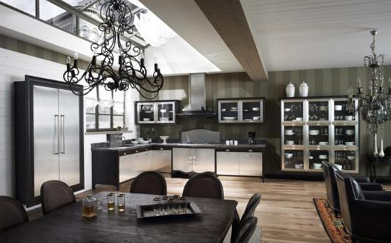 Contemporary Old Town and Country Style Kitchen Design Ideas New Classic