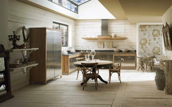 Contemporary Old Town and Country Style Kitchen Design Ideas Stylish