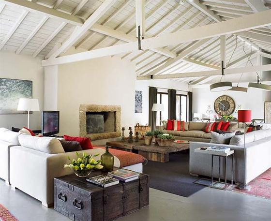 Contemporary Romantic Country Style Home Design in Portugal