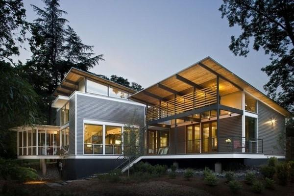 Contemporary The RainShine House by Robert M. Cain