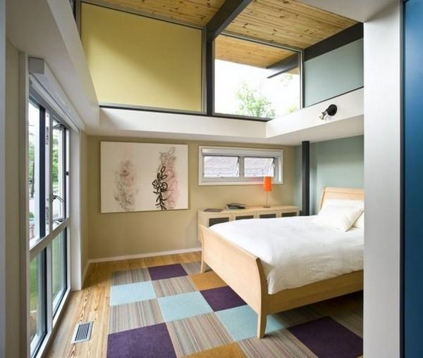 Contemporary The RainShine House by Robert M Cain bedroom