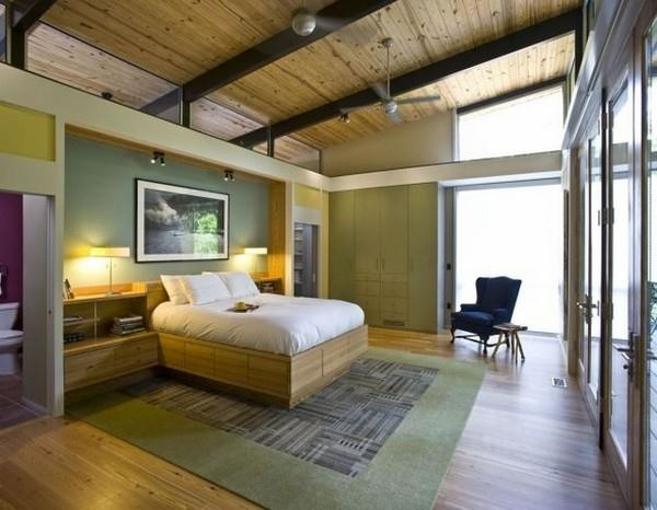 Contemporary The RainShine House by Robert M Cain main bedroom