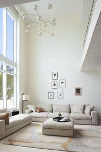Contemporary Townhouse Design with Airy Interior Design