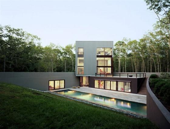 Contemporary Underground Home Design Ideas Swimming pool