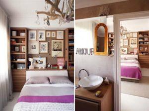Contemporary Warm Interior Design with Neutral Color Scheme Master bedroom