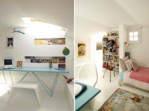 Contemporary Warm Interior Design with Neutral Color Scheme kids bedroom