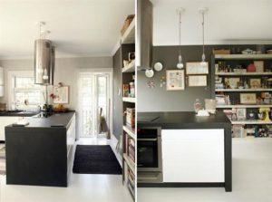 Contemporary Warm Interior Design with Neutral Color Scheme kitcehn