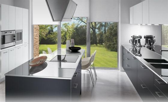 Contemporary italian kitchen style decorating ideas