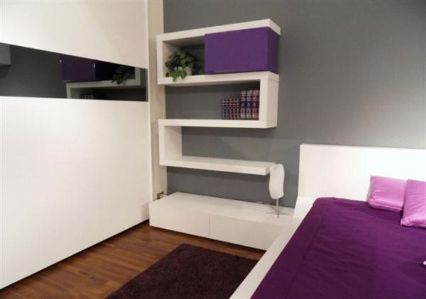 Contemporary wall Shelves for Minimalist and Modern Bedroom