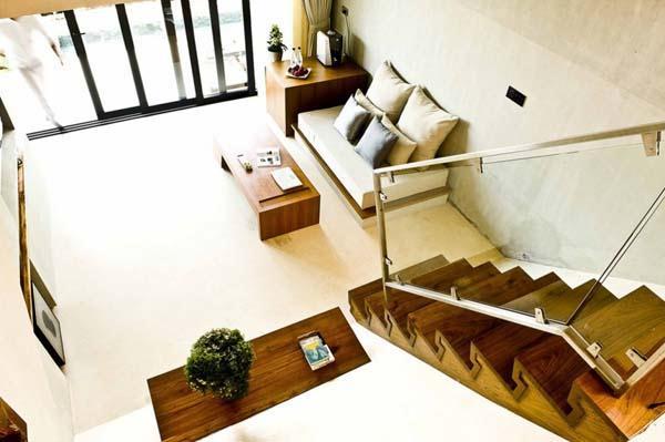 Cool Beachfront Villa Design with bright natural Concept in Thailand
