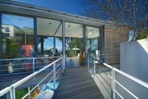 Cool The Bridge Villa with Unique Design in South Africa