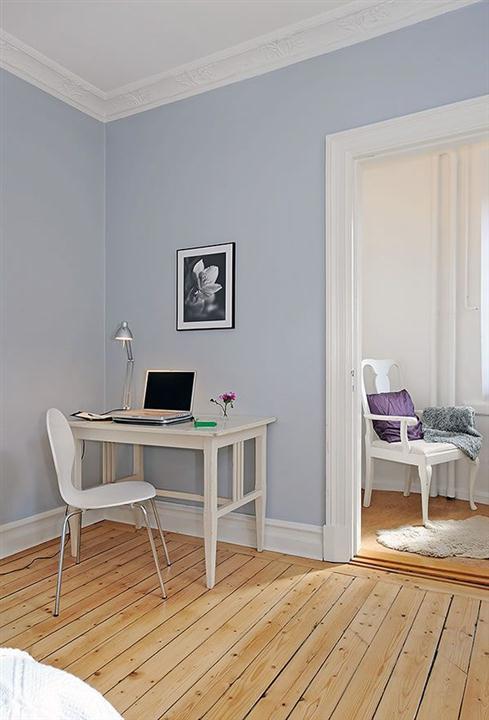 Cool and Cozy White Swedish Apartments Ideas corner