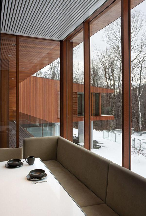 Cool and Stylish Home Design Ideas in USA with big glasses window