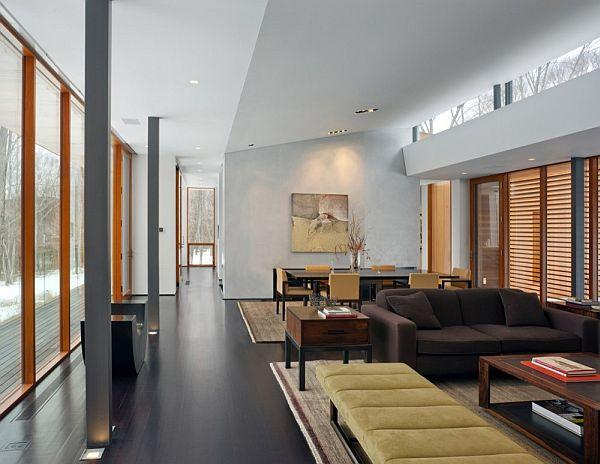 Cool and Stylish Home Design Ideas in USA with cozy living room