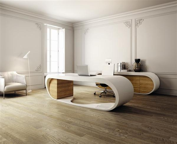 Cool and elegance Working Table Design by Danny Venlet for Babini