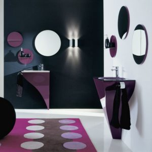 Cool bathroom with Contemporary Violet Interior Design Ideas inspirartion