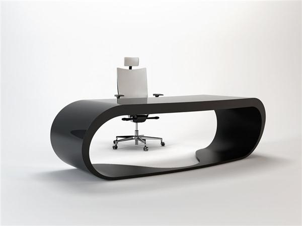 Luxurious black Working Table Design by Danny Venlet