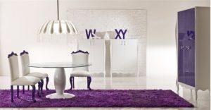 Luxury room with Contemporary Violet Interior Design Ideas inspirartion