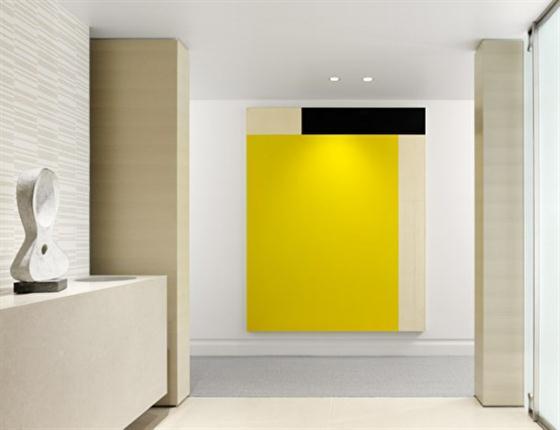 Warm stylish apartment design