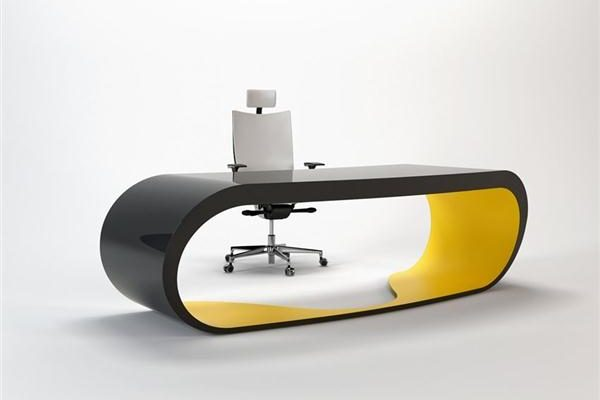 Cool and Luxurious Working Table Design by Danny Venlet