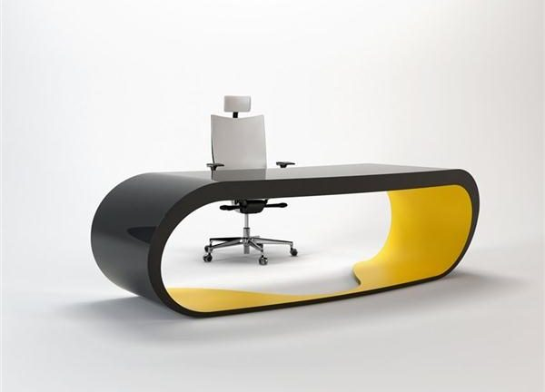 Working Table Design by Danny Venlet with modern and cool style