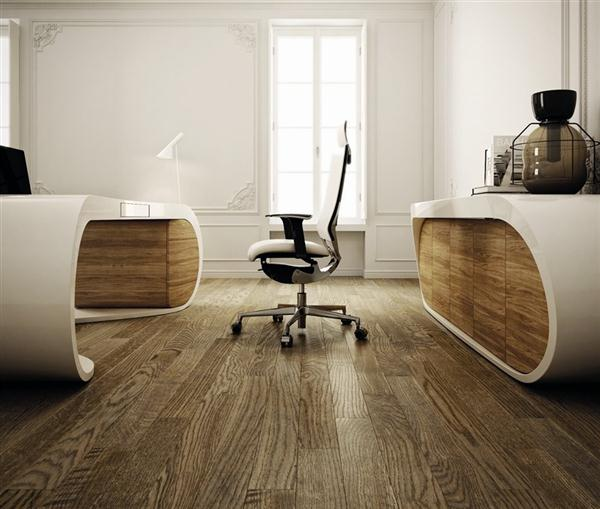 awesome and Luxurious Working Table Design by Danny Venlet
