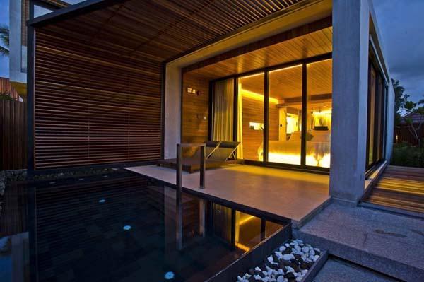 elegance Beachfront Villa Design with Eco friendly Concept in Thailand