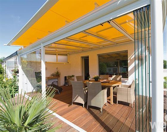 luxury glass patio outdoor design exterior