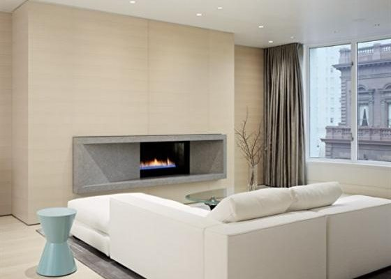 Contemporary Stylish and Minimalist Warm Apartment Interior Design