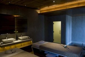 private spa room design on luxurious Beachfront Villa in Thailand