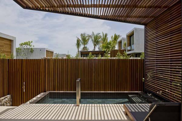 wonderful Beachfront Villa Design with Eco friendly Concept