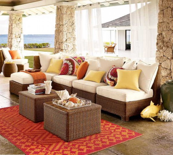 All weather outdoor sofa chair furniture ideas