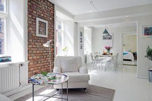 Apartment Decor ideas with White Stylish Concept