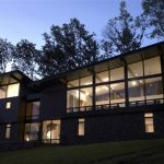 Awesome Wurzburg Lakehouse Design at night view