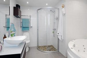 Bathroom with Stylish and luxurious design