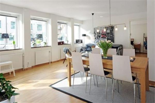 Delightful and Minimalist Apartment Design Ideas in Sweden