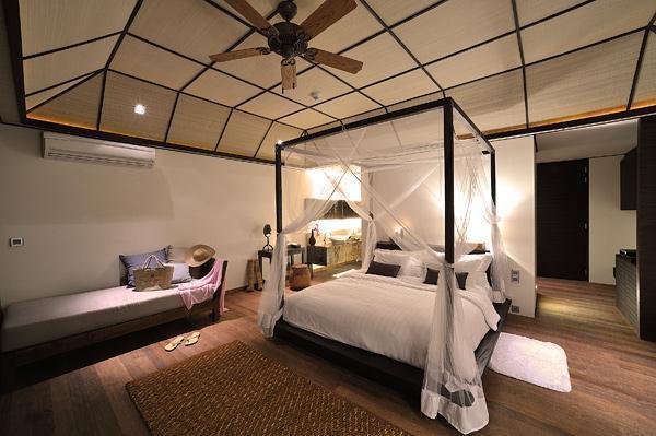 Cozy Lily Resort in Maldives elegant bedding