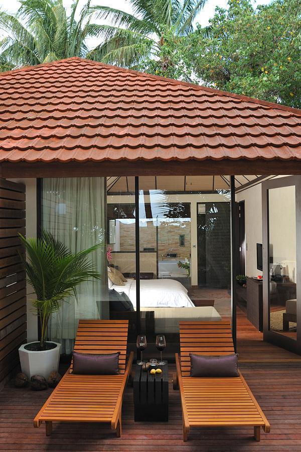Cozy Lily Resort in Maldives spa corner