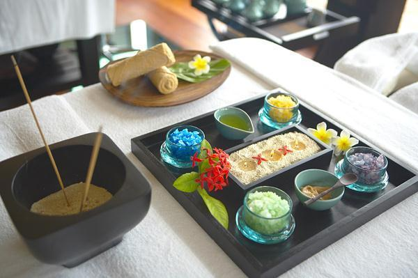 Cozy Lily Resort in Maldives spa materials