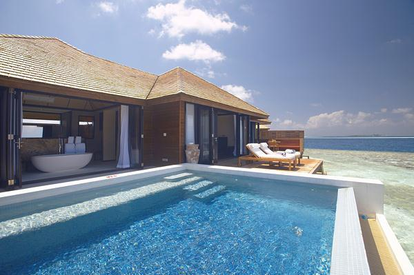 Cozy Lily Resort in Maldives – an Luxurious Interior Design Inspiration