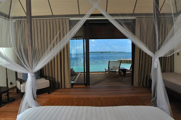 Cozy Lily Resort in Maldives with ocean view