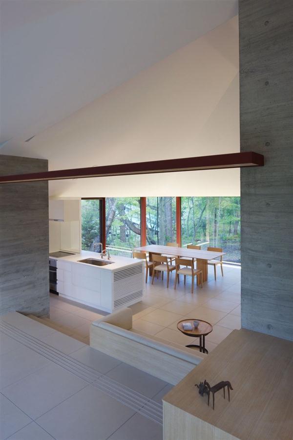 Cozy Villa interior Design Inspiration in Nagano Japan