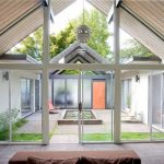 Cozy and Luxurious Home Design with mini home garden