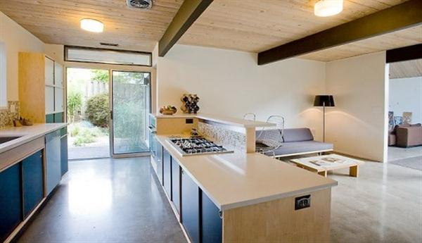 Cozy kitchen design with Natural Lighting