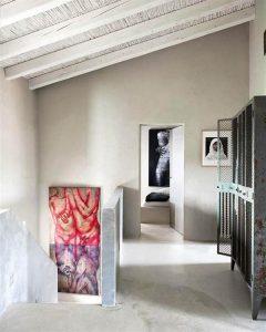 Creative Home with Rustic Design Interior in Ampurdan free corner