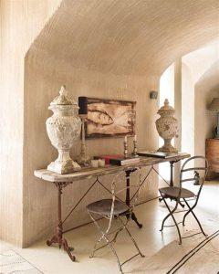 Creative Home with Rustic Design Interior in Ampurdan spot