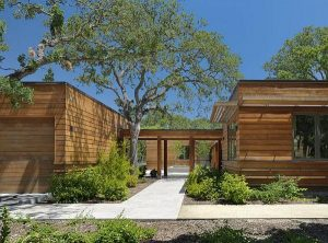 Creative Wooden House Design Ideas by MacCracken Architects garden